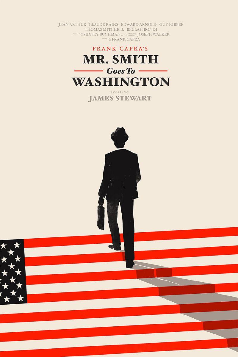 Olly Moss Mr Smith Goes to Washington – Mr Smith Goes to Washington Worksheet