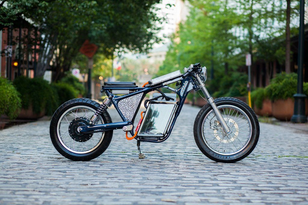 Im Planning On Building An Electric Cafe Racer In This Style Like NightShiftBikes Did He Used A 2003 Suzuki Savage Frame But I Dont
