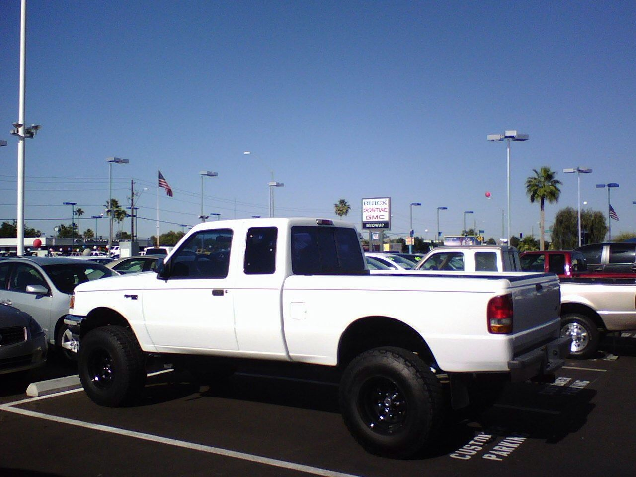 """Tires North Vancouver >> 1994 Ford Ranger XLT Supercab, 4"""" suspension lift, 2"""" body ..."""