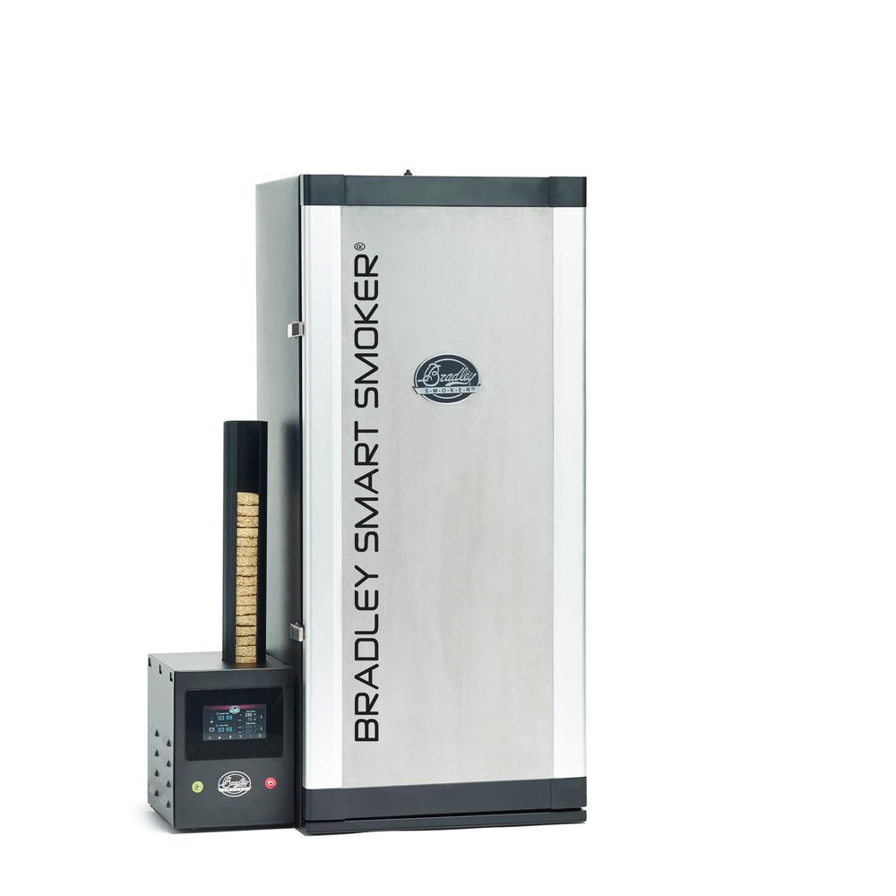 Bradley Smoker Bradley 6 Rack Smart Smoker Products Bradley Smoker Digital Electric Smoker Charcoal Smoker