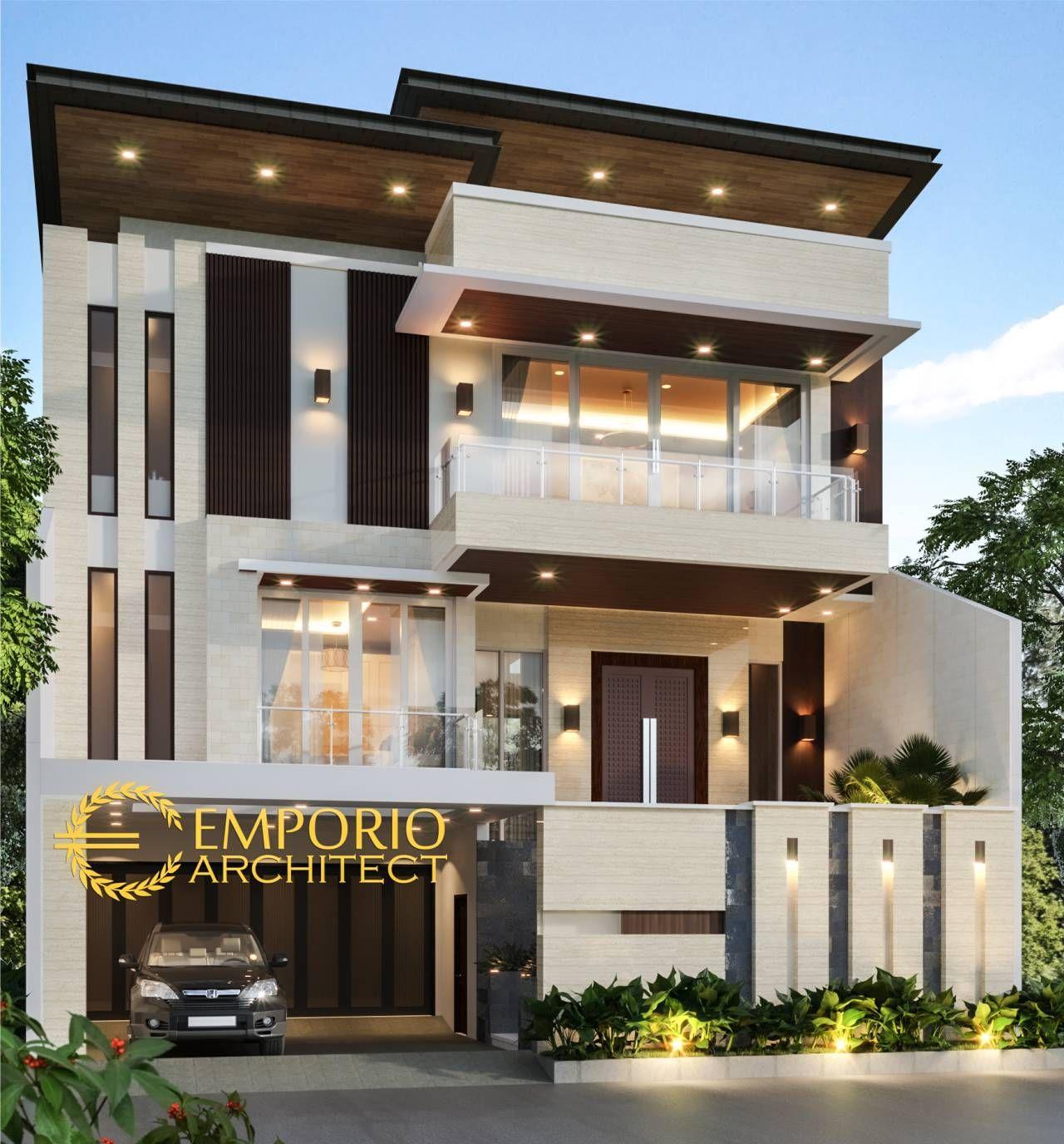 Mrs. Lie Sien Private House Design   Jakarta Barat   House outside ...