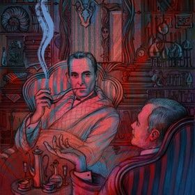 The Adventures of Sherlock Holmes III, an art print by Svetlana Boiko