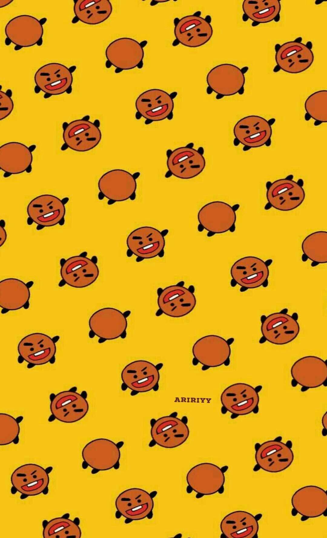 ARiRiyy § pinterest《 Bts Bt21 Wallpapers shooky Suga