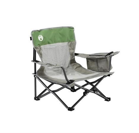 Magnificent Coleman Deluxe Mesh Event Chair Low Quad Folding Chair Gamerscity Chair Design For Home Gamerscityorg