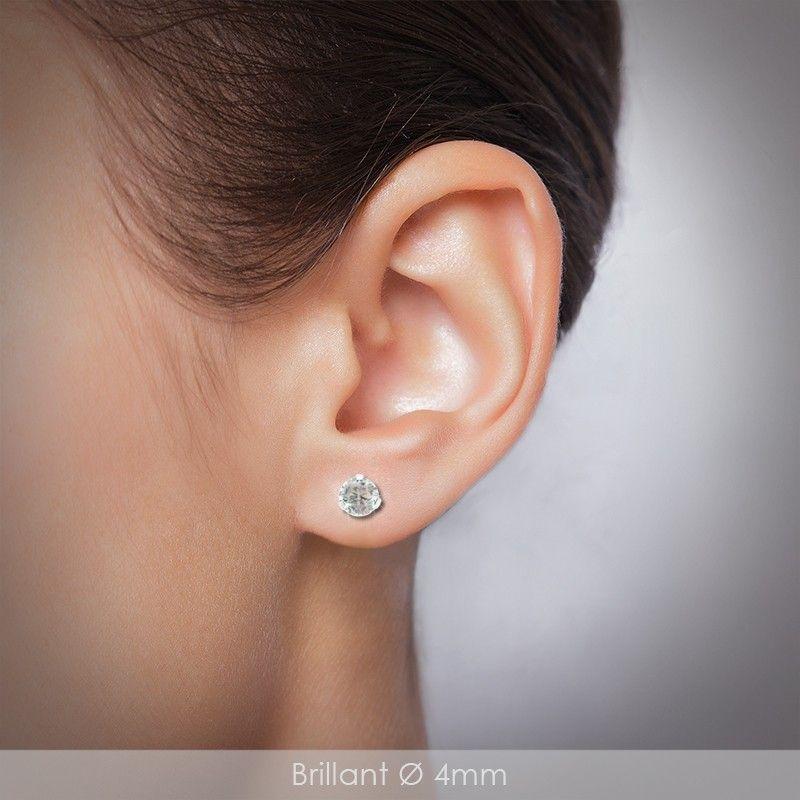 boucle d'oreille femme acier chirurgical