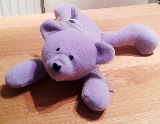 FREE Honey Teddy Bear - easy sewing project for beginners! | Funky ...