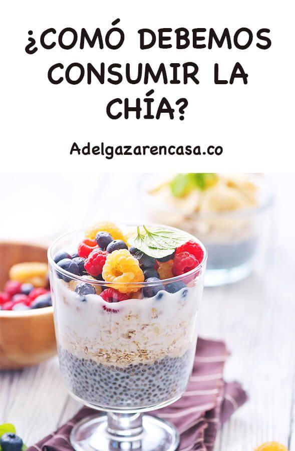 Dieta De La Chía Para Perder Peso Adelgazar En Casa Linaza Para Adelgazar Chia Para Adelgazar Beneficios De La Chia