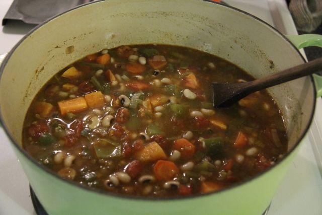 i eat food » Black-eyed Pea Stew