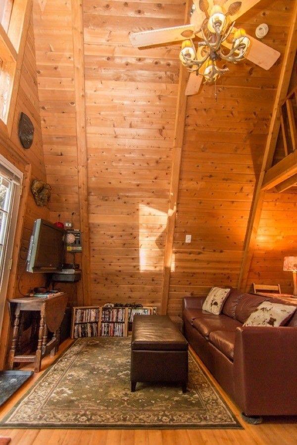 580 Sq Ft Off Grid A Frame Cabin A Frame Cabin Cabins