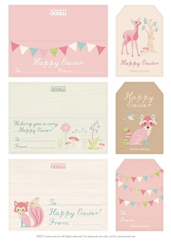 Fawn adorable and free easter printables pinterest easter printables negle Gallery