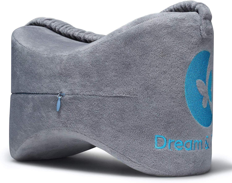 Leg Pillow Memory Foam Knee Pillow For Side Sleepers For Between Legs Dream Hip Pillow Knee Pill In 2020 Knee Pillow Leg Pillow Side Sleeper Pillow