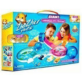 Zhu Zhu Pets Deluxe Playset Giant Hamster City By Cepia Llc 329 99 Zhu Zhu Pets Deluxe Playset Giant Hamster City Playset Toys Cool Toys