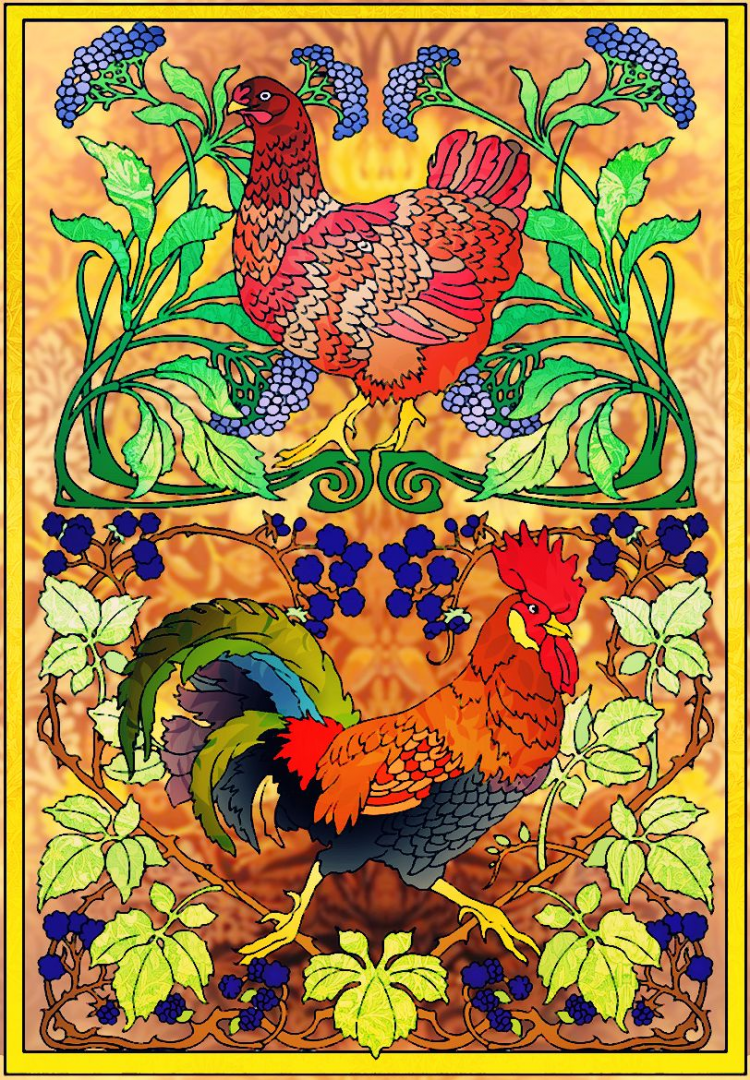- Pin En All Living Creatures Coloring Contest Entries