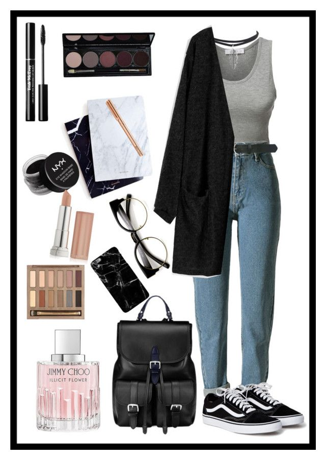 """""""Untitled #430"""" by iuliakalisch ❤ liked on Polyvore featuring LE3NO, M&Co, Aspinal of London, ZeroUV, Dear Maison, Jimmy Choo, Urban Decay, NYX and Maybelline"""