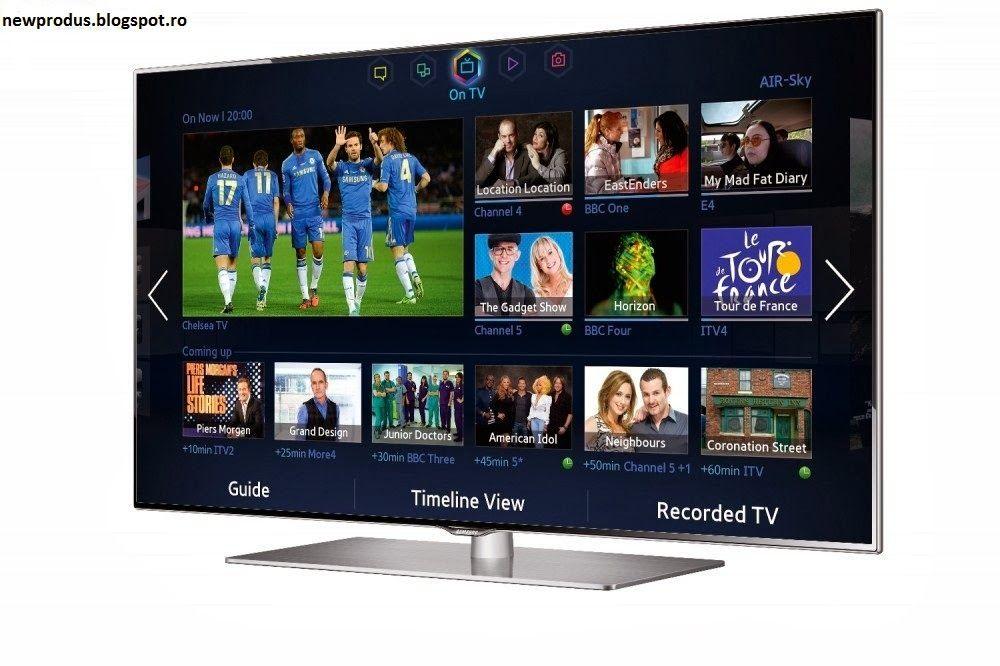 SUPER OFERTE: 3D SMART TV 50 inch (127 cm), Seria 6, Browser