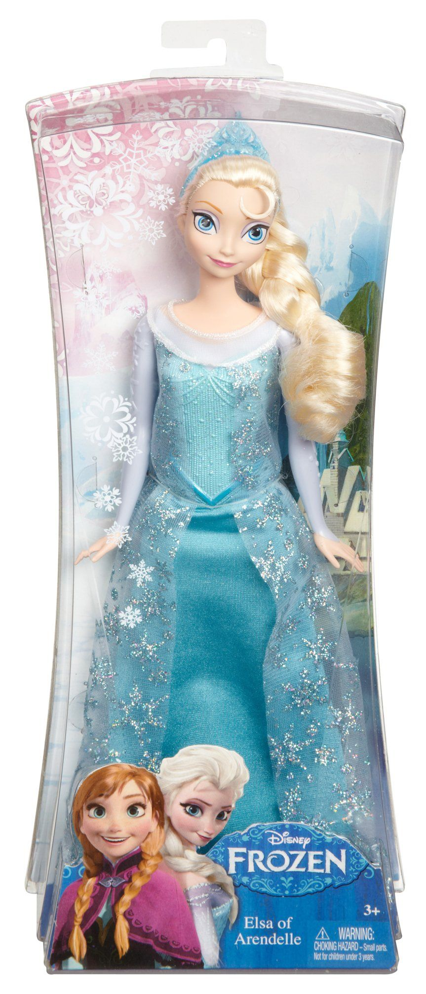 mattel disney princess y9960 die eisk nigin elsa puppe. Black Bedroom Furniture Sets. Home Design Ideas