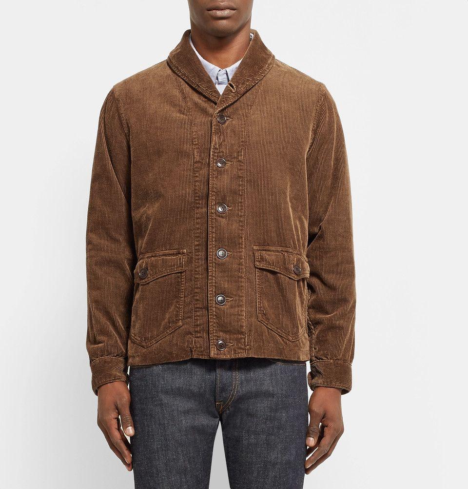 e9fefbf1e Visvim - Kobuk Shawl-Collar Cotton-Blend Corduroy Jacket | Jackets ...