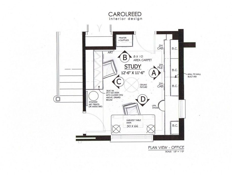 Home Office Floor Plans with Two Stories  Two Floors 8 X 10 Area