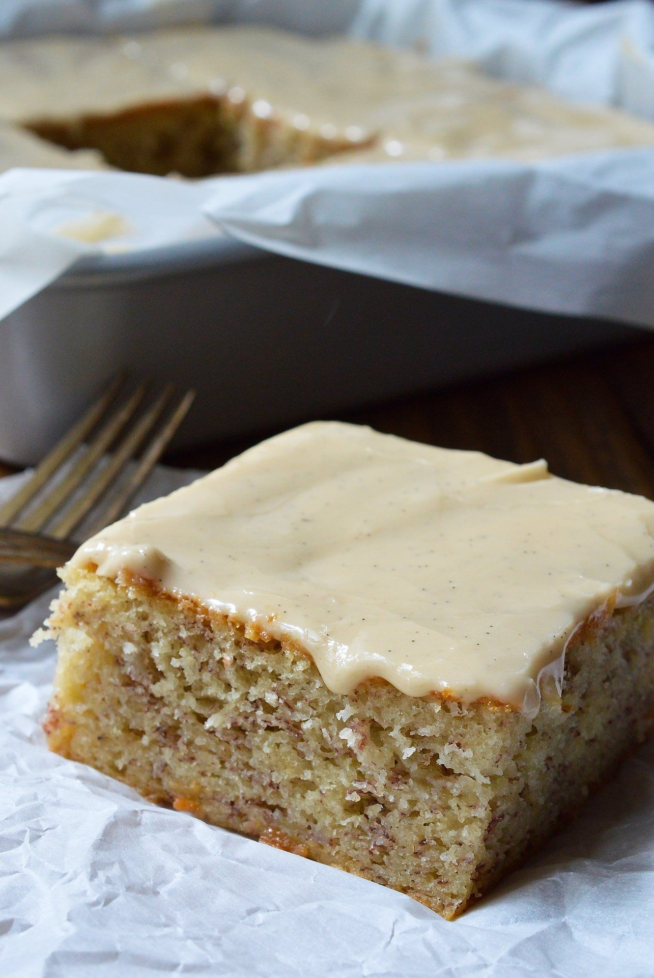 Do You Have A Few Brown Overripe Bananas Hanging Out On Your Counter If So This Buttermilk Banana Cake Recipe Banana Cake Recipe With Buttermilk Banana Cake