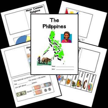 FREE Philippines Lapbook | Mission Friends | Pinterest