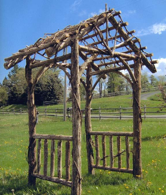 This Would Look Good In My Yard Garden Arches Rustic 400 x 300