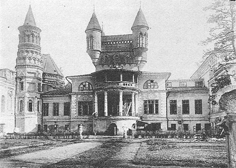 Главный дом усадьбы Покровское-Стрешнево. Северо-западный ...