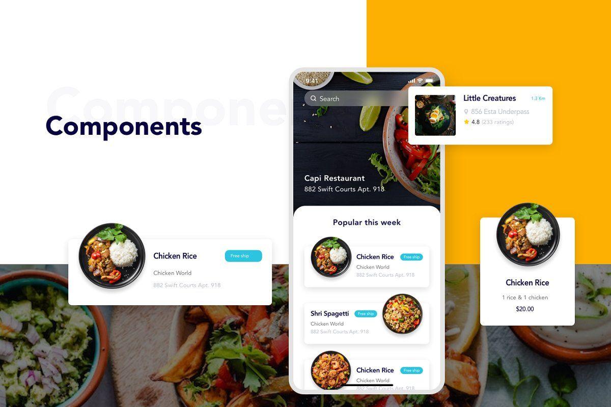 Foode Best Food Order Mobile App Mobile app, App