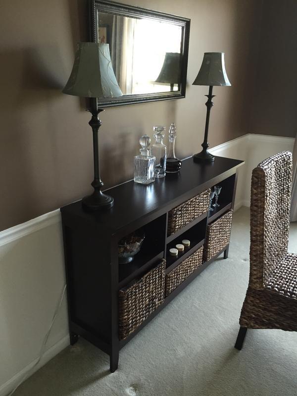 32 Carson Horizontal Bookcase With Adjustable Shelves Espresso