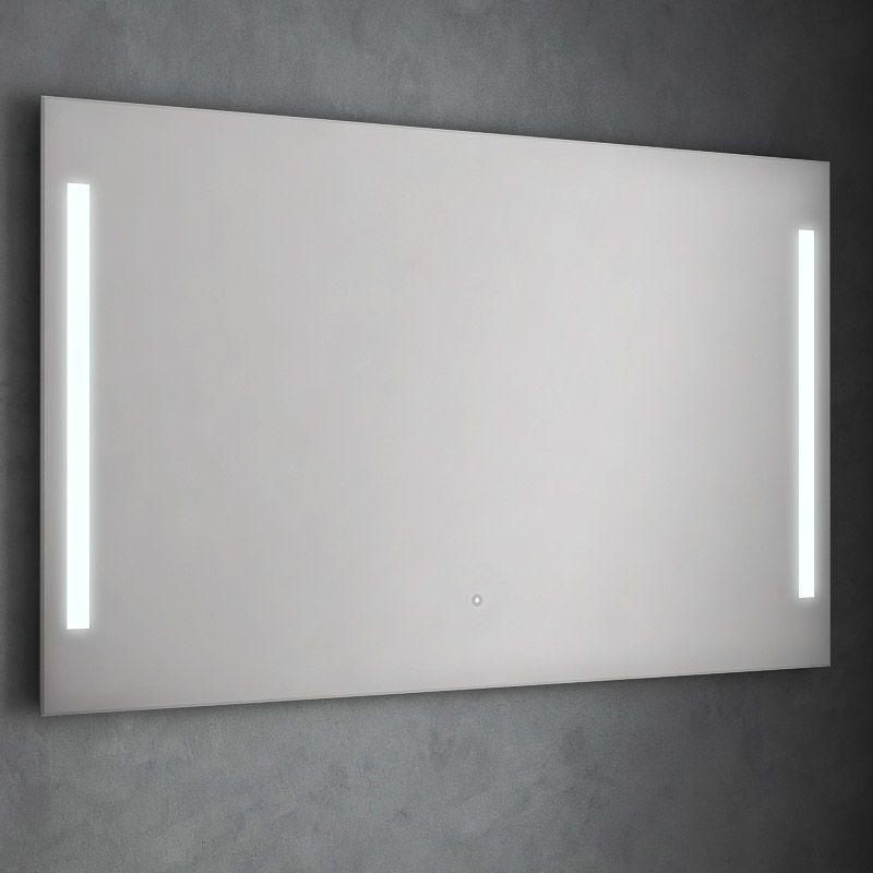 Miroir Lumineux Led Salle De Bain Anti Buee 120x80 Cm Idled Miroir Lumineux Led Miroir Lumineux Led Salle De Bain