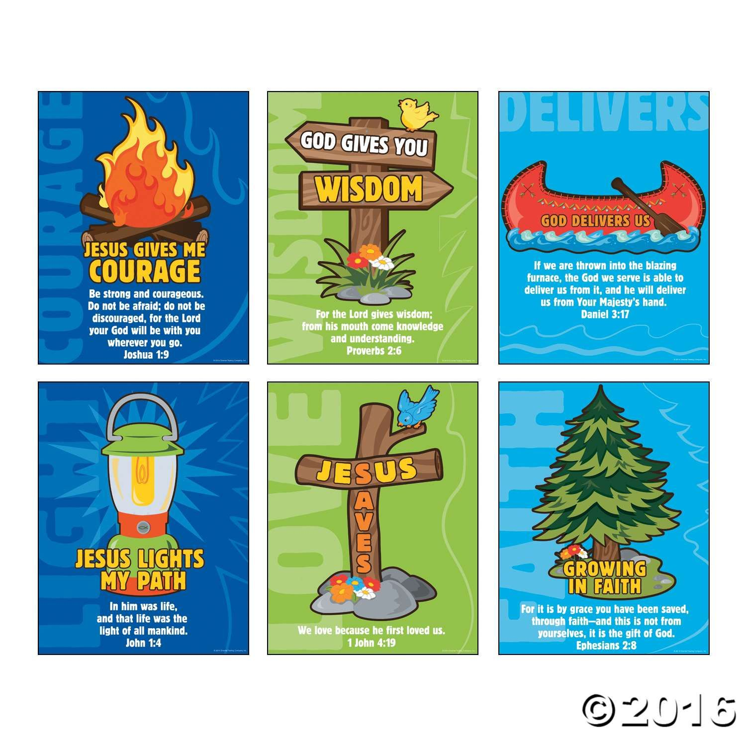 Hang these Camp Courage posters around your VBS classroom! These ...