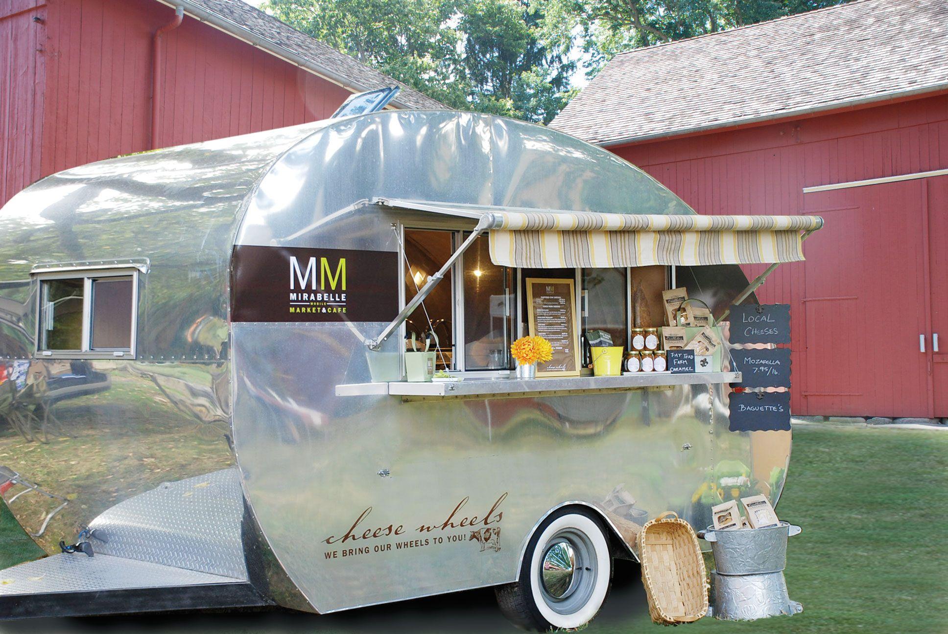 Cheese Wheels Pop Up Vintage Shops Food trailer