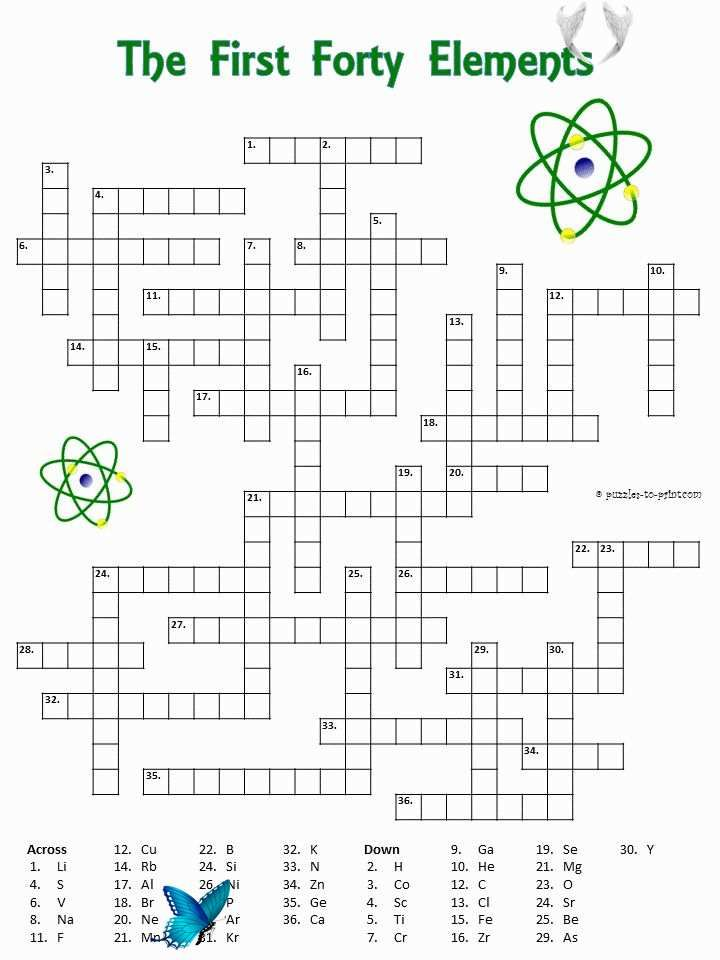 50 Periodic Table Puzzle Worksheet Answers Periodic Table ...