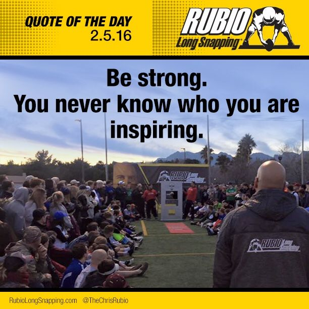 Quote of the Day! ##TeamRubio #RubioFamily