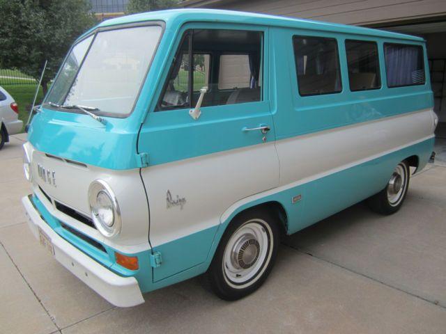 1966 Dodge A100 Sportsman Van Low Mileage Survivor L K