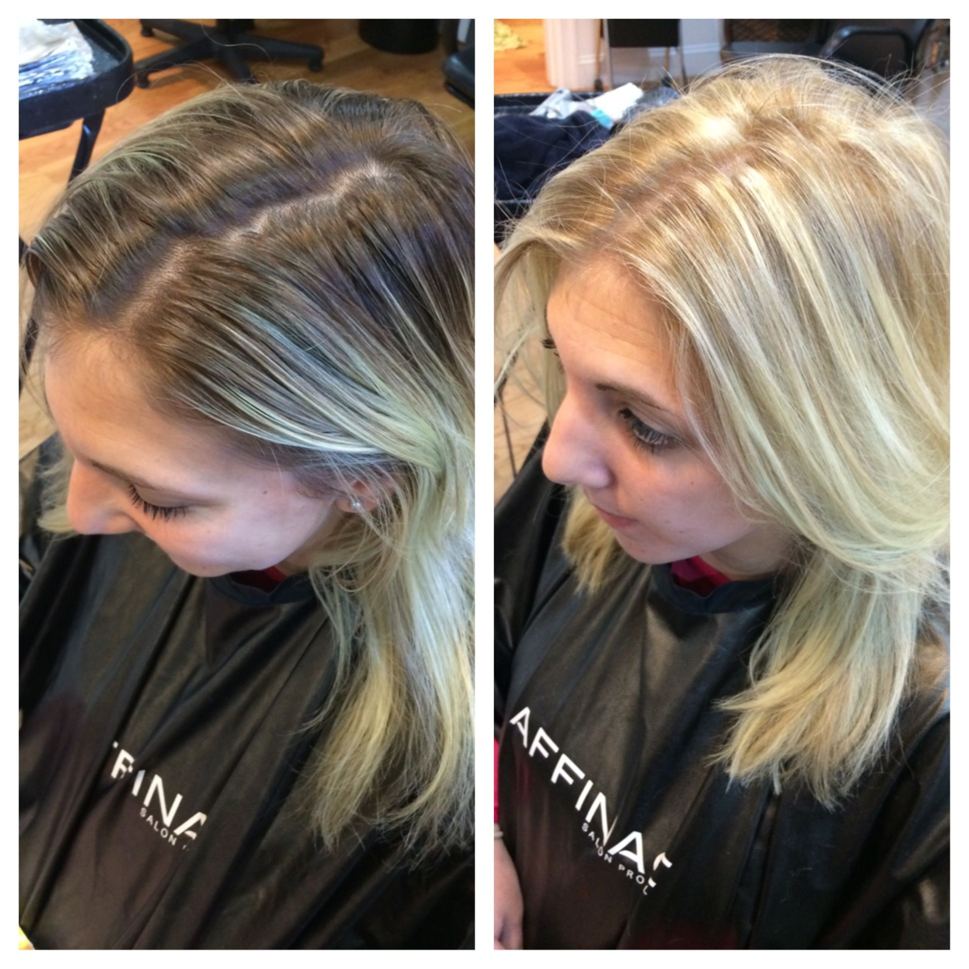 From Break The Base To Shadow Root Before And After By Kendra At Scott Lemaster Salon And Spa Luxury Hair Shadow Root Hair Salon