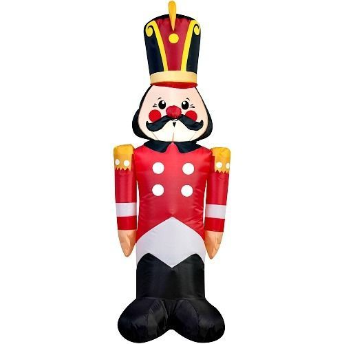 Outdoor Christmas Soldier Toy Inflatable Yard Decoration 4\u0027 Airblown - christmas blow up decorations