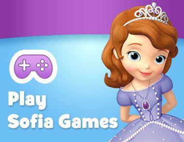 SOFIA THE FIRST - GamesList.Com - Play Free Games Online