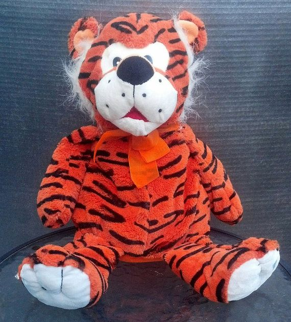 Collectible Kelly Toy Plush Tiger / Tony Tiger or by Flavsantiques