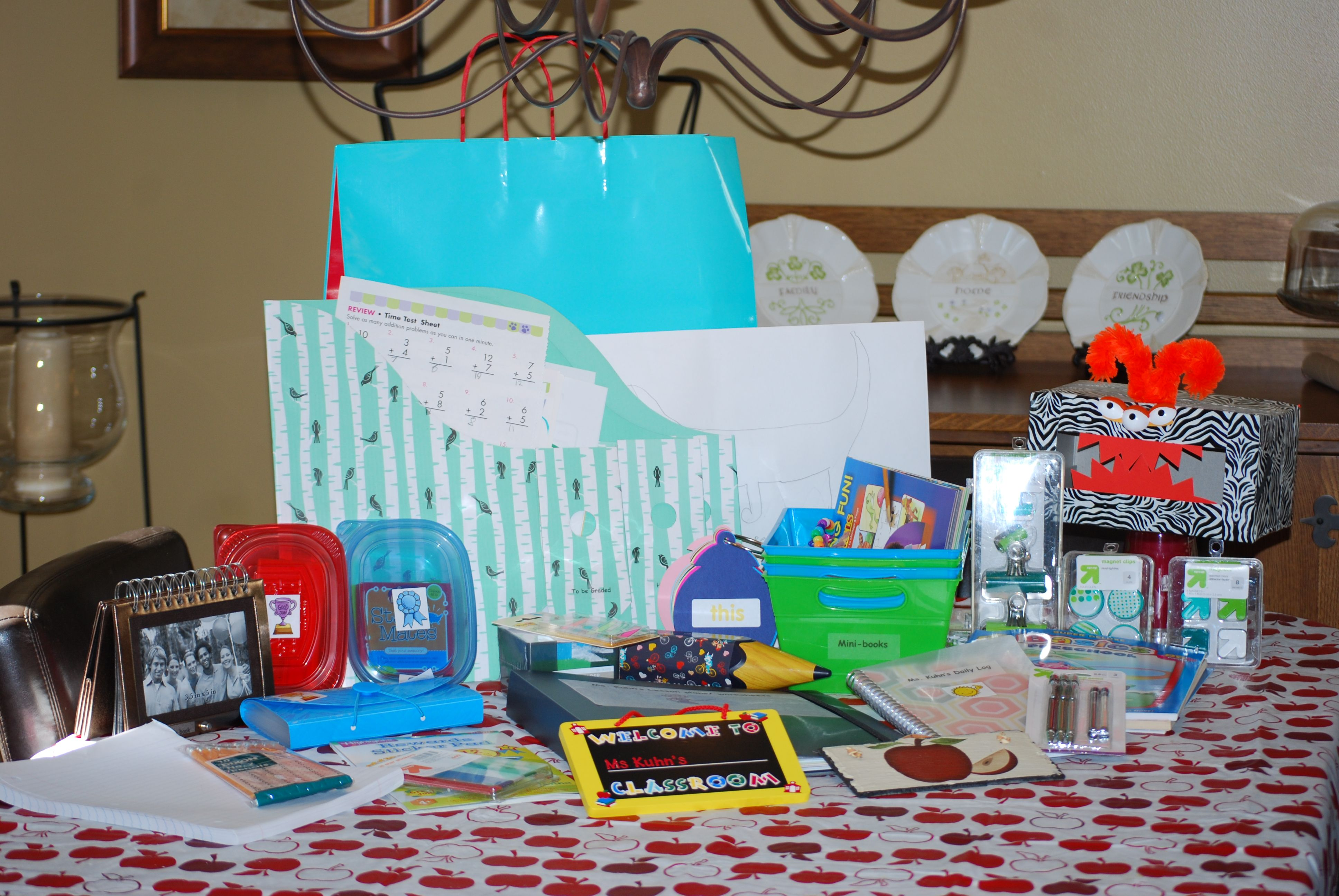 Mini Classroom Kit For Niece S Pretend Classroom The Ket