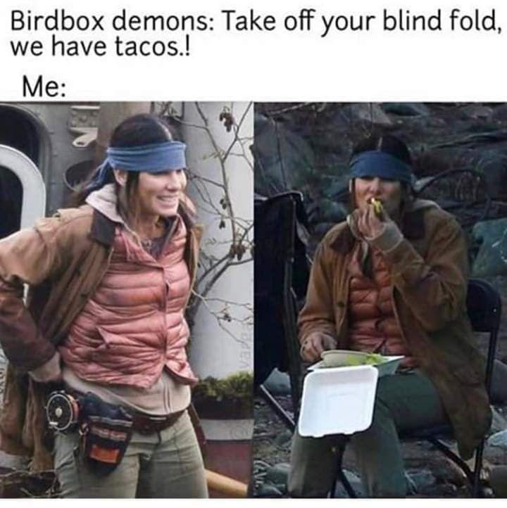 Birdbox Memes Comics And Memes Relatable Post Funny Memes Freaking Hilarious