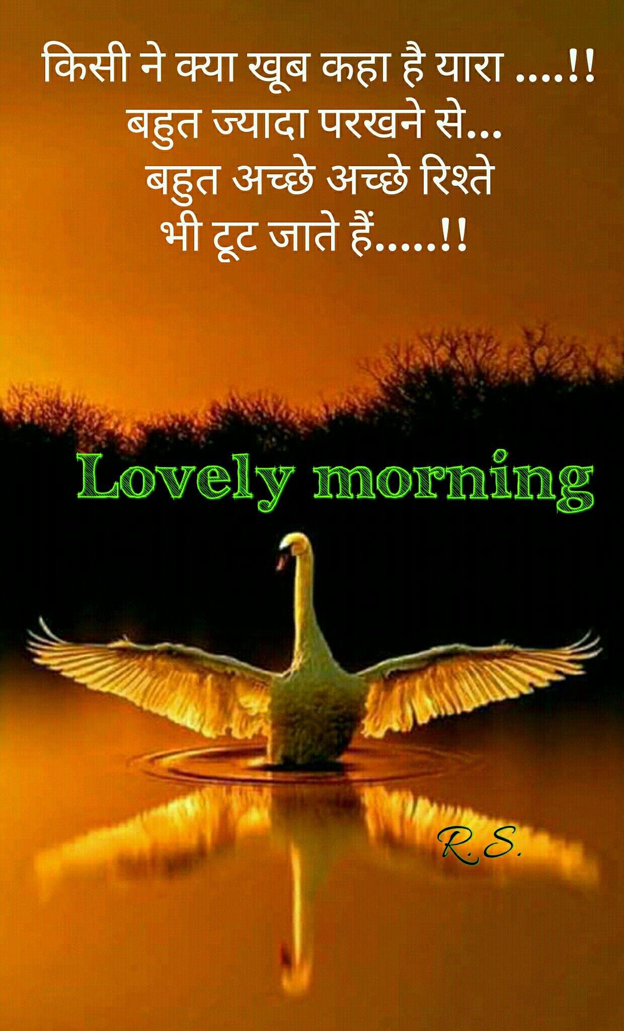 Pin By Rupali Saha On Good Morning Good Morning Quotes Hindi