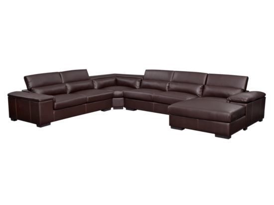 Ventana Godiva 4 Pc Sectional Value City Furniture For The Home