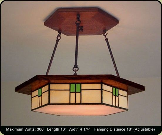 Craftsman Style Dining Room Lighting Fixture Craftsman Lighting