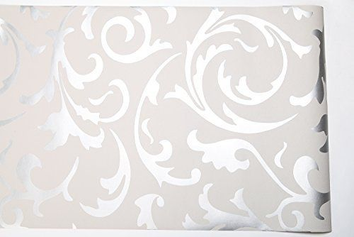 Hanmero Highgrade Flocking Victorian Damask/embossed
