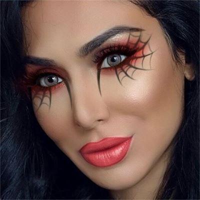 Photo of Halloween Augen Make-up einfach #einfach #HalloweenEyeMakeup – Nora K.
