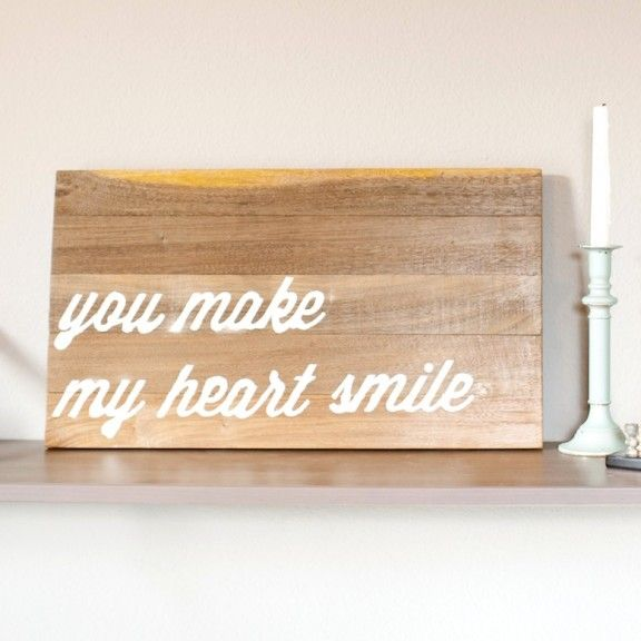 {diy} wood letter art | silhouette feature!