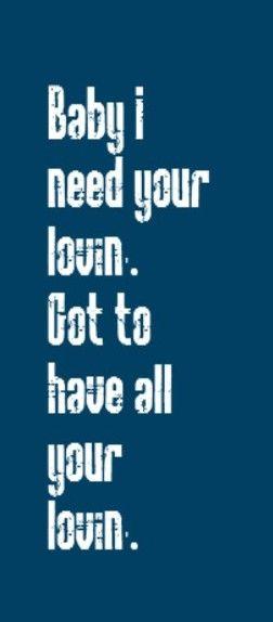Motown song lyrics