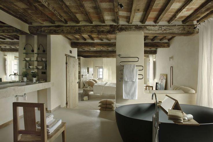 Bagni in stile rustico ma essenziale monteverdi tuscanybagni dal