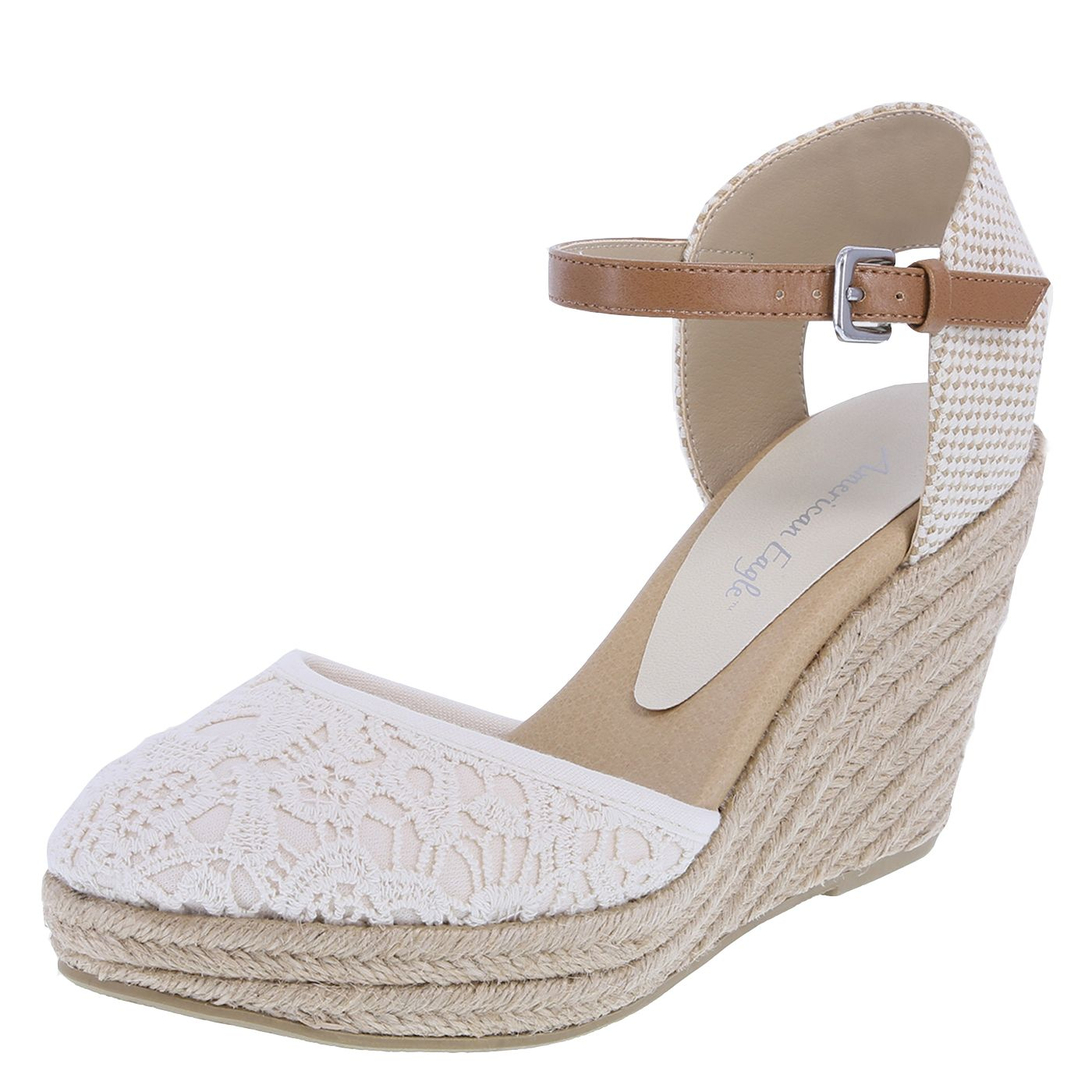 Closed-Toe Wedge | Ankle strap heels