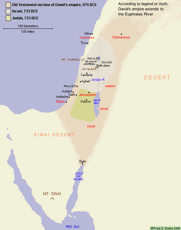 map of edom and judah images